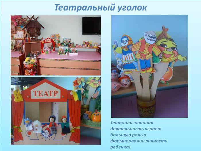 Детский театральный уголок картинки